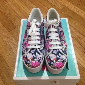 Jeffrey Campbell floral platform shoes