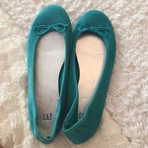 Gap teal flats in size 6