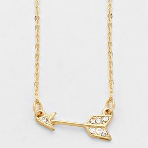 Arrow Pendant Necklace