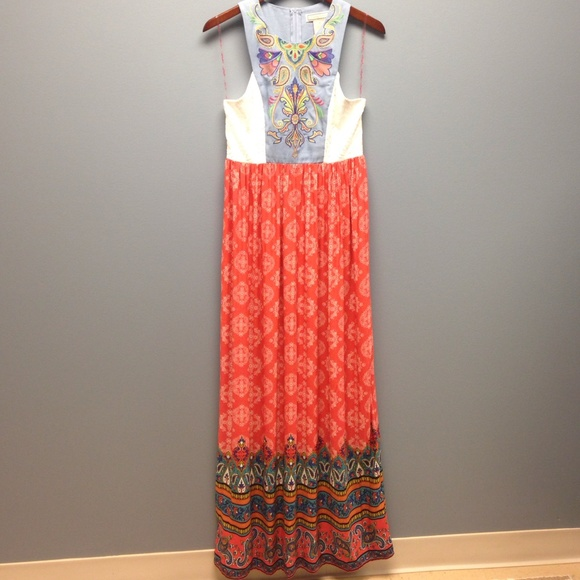 87bf5c800a6 Flying Tomato Embroidered Maxi Dress