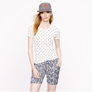 J.Crew Dotted Tee