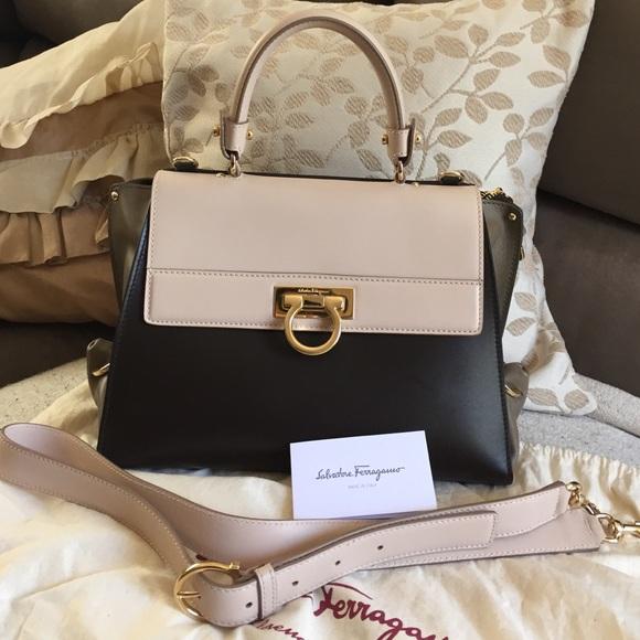 SOLD Salvatore ferragamo Sofia handbag 277e60ba6b464
