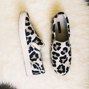 H&M Shoes - Leopard print sneakers