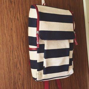 Cute Striped Backpack
