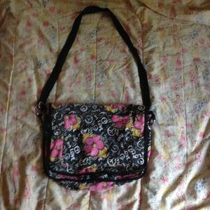 Peace love side bag
