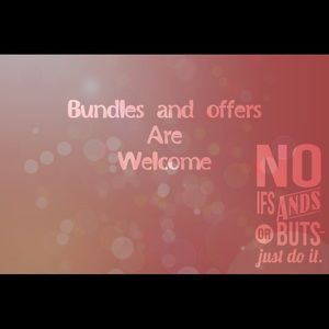 Bundles and Offers Are Welcome!