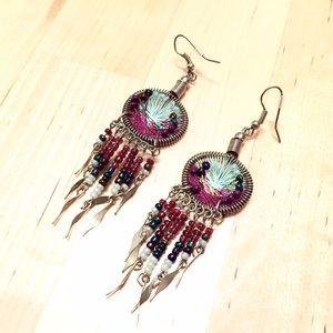 Jewelry - Dreamcatcher earrings.
