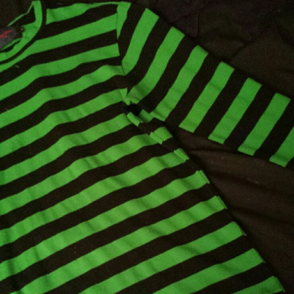 32fad93f35 Tripp green and black striped shirt. M_559c7c248cc1ab7c9701cddb