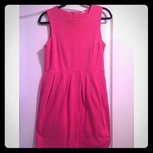 J.Crew Pink Cotton Dress