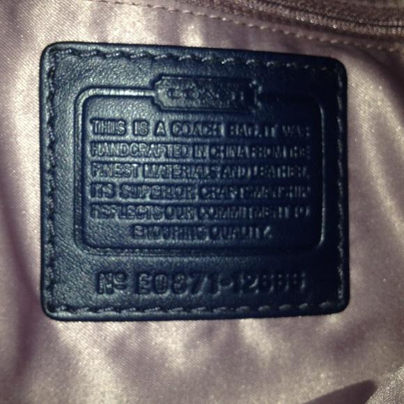 Coach Zoe Medium Signature Shoulder Bag 61