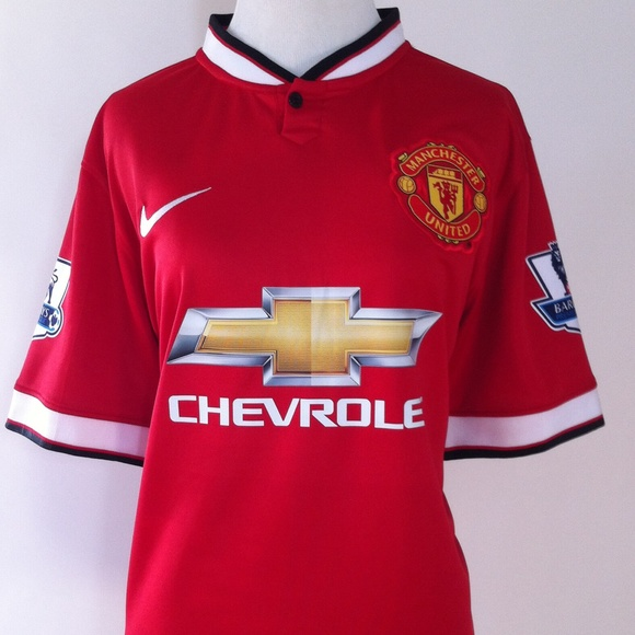 Nike Tops - Manchester Unites Authentic Soccer Jersey