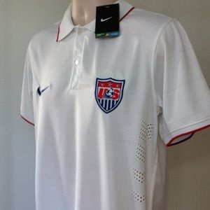 Nike Shirts - Authentic USA Soccer Jersey Mens USMNT Football