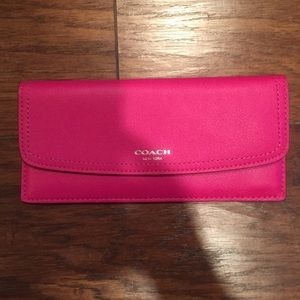 Authentic COACH slim wallet