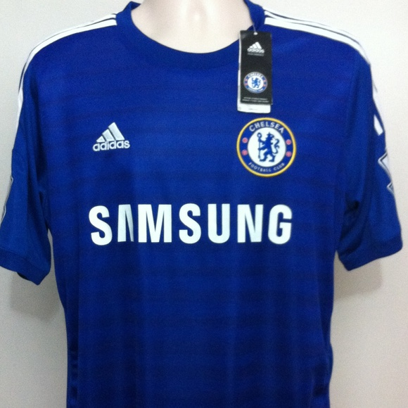 Adidas Tops - Chelsea Football Club Soccer Jersey