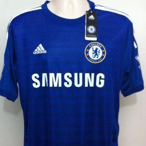 Adidas Tops - Chelsea Football Club Soccer Jersey