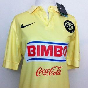 Nike Tops - Club America Aguilas Futbol Soccer Jersey