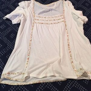 Tops - Peasant cotton top