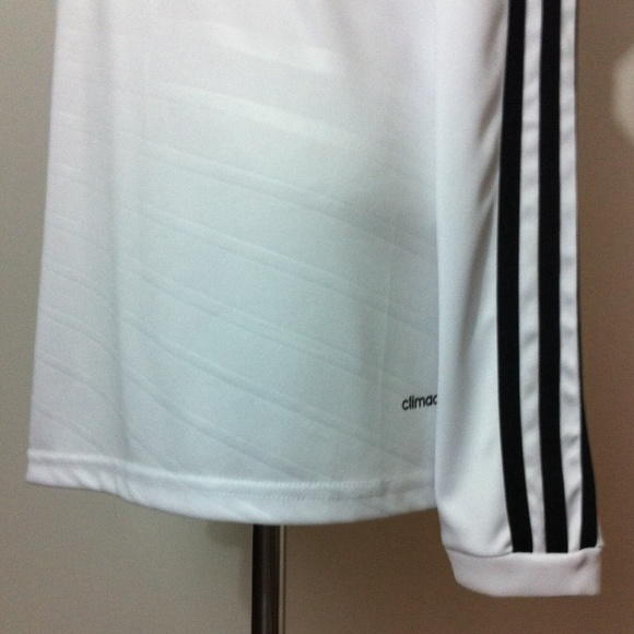 Adidas Tops - Real Madrid Football Long Sleeve Soccer Jersey