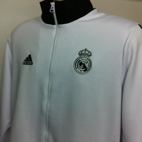 Adidas Tops - Real Madrid Football Soccer Zipper Jacket Ronaldo