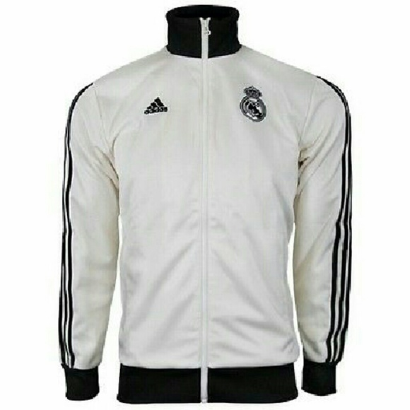 42 off adidas tops real madrid football soccer zipper. Black Bedroom Furniture Sets. Home Design Ideas