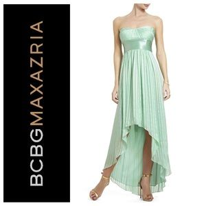 BCBG MAXAZRIA Alicia High Low Dress