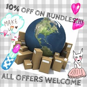 ALL BUNDLES ARE 10% OFF!!!!