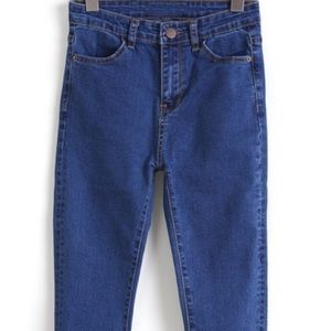 NWOT ROMWE FASHION high waisted jeans small