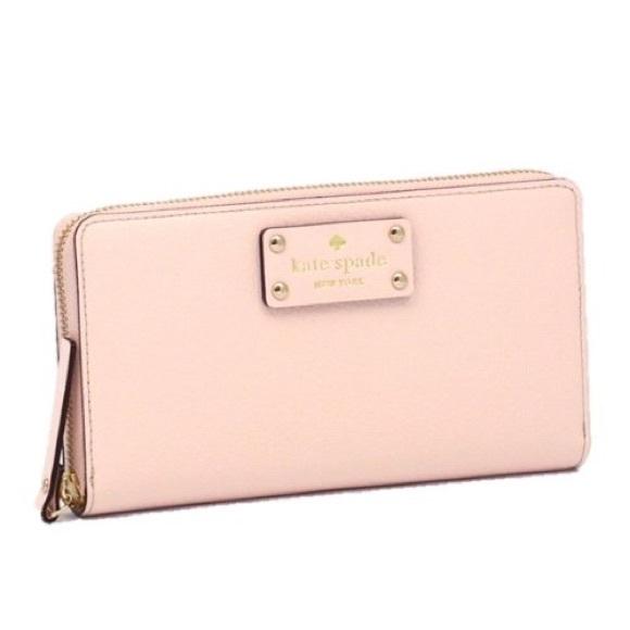 3932a256d224 Kate Spade Handbags - Kate Spade Ballet Slipper Wallet
