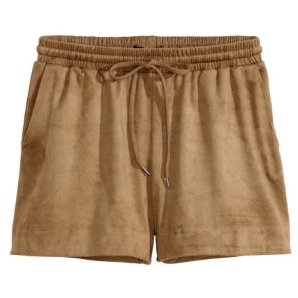 22b87b43e9 Shorts | Faux Suede Camel | Poshmark