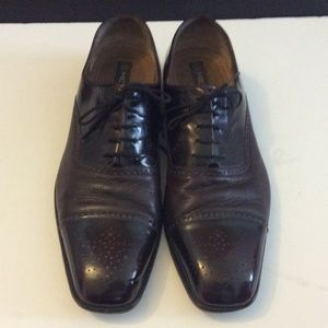 Mezlan Other - Men's Mezlan burgundy leather shoes