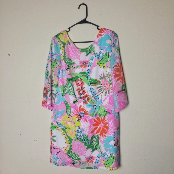 Lilly Pulitzer for Target Dresses & Skirts - Lilly Pulitzer for Target Nosie Posey Satin Dress