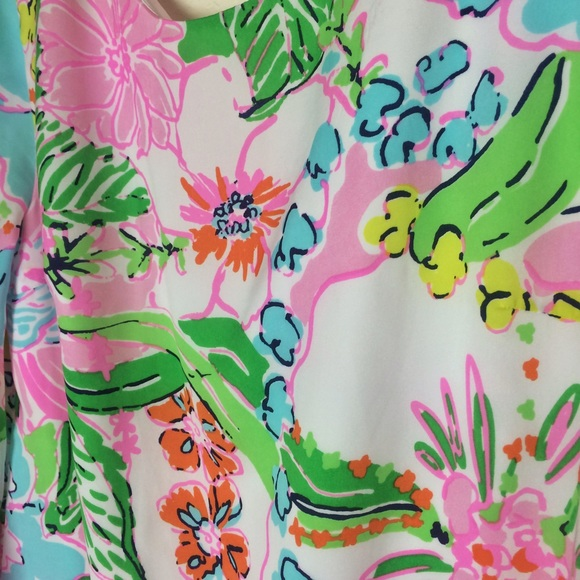Lilly Pulitzer for Target Dresses - Lilly Pulitzer for Target Nosie Posey Satin Dress