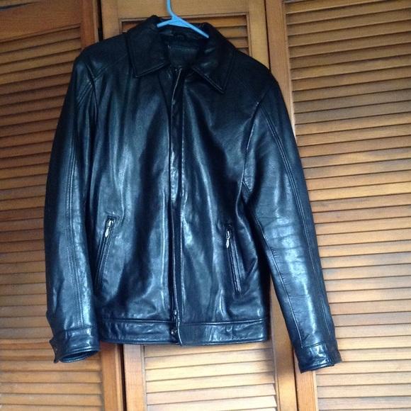 Merona leather jacket