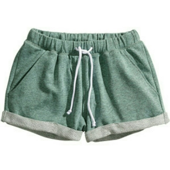 67 Off H Amp M Pants Seafoam Sweat Shorts From Trendeeme S