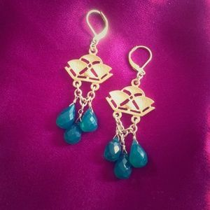 David Aubrey Emerald Earrings