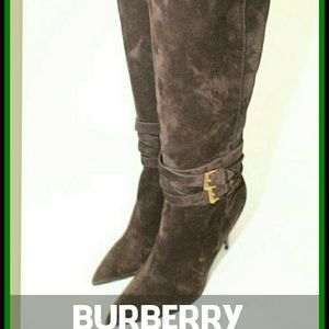 Burberry Suede Boots