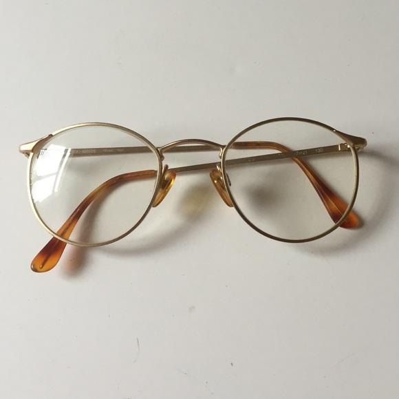 Armani Gold Frame Sunglasses : 73% off Giorgio Armani Accessories - Vintage Giorgio ...