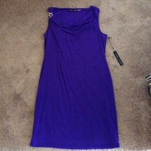 Ivanka trump purple dress