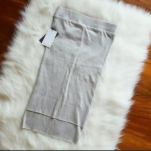 lime and vine Dresses & Skirts - Micro ribbed skirt