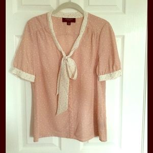 Jason Wu for Target Tops - NWT Jason Wu for Target Blush Pink Bow Blouse