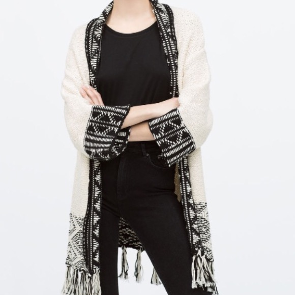 Zara Cardigan Sweater 6