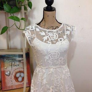 [BOGO 50%] Hollister White Dress