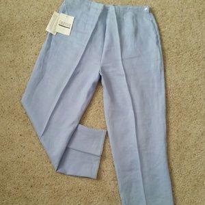 Carlie?s Court  Pants - 🇺🇸🆕Carlie's Court Linen Ankle Pants