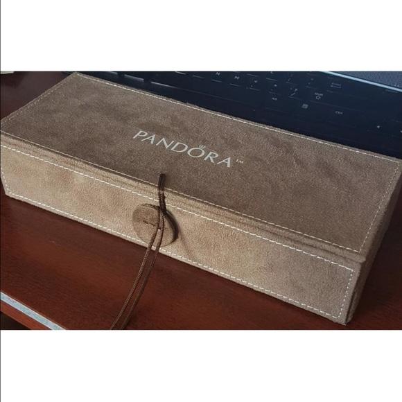 Pandora Jewelry New 3 Tray Box W Storage Box Poshmark
