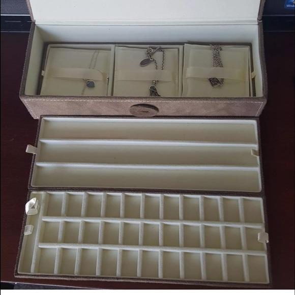 Jewelry Box For Pandora Charms: New Pandora 3 Tray Jewelry Box W