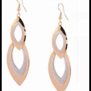  Chandelier Glitter Drop Earrings