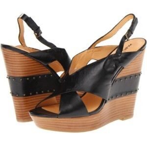 Matisse Cagney Women's Wedge Shoes, Black OBO