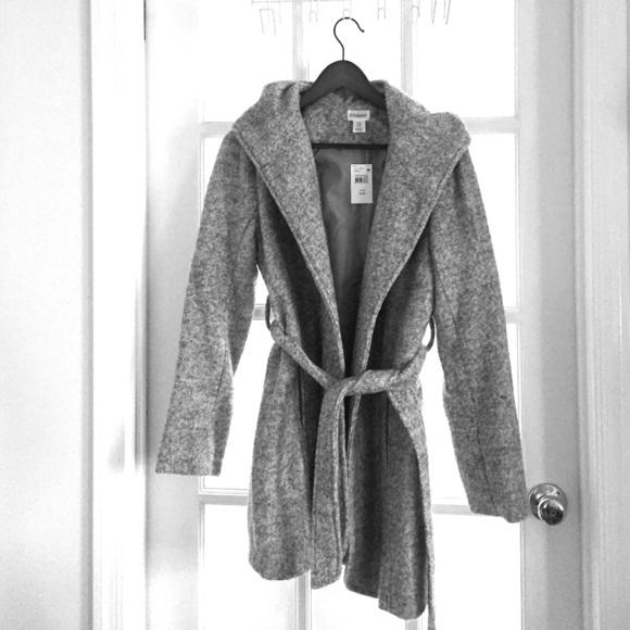 31ead20b5a955 Motherhood Maternity Jackets & Coats | Nwt Hooded Boucle Maternity ...