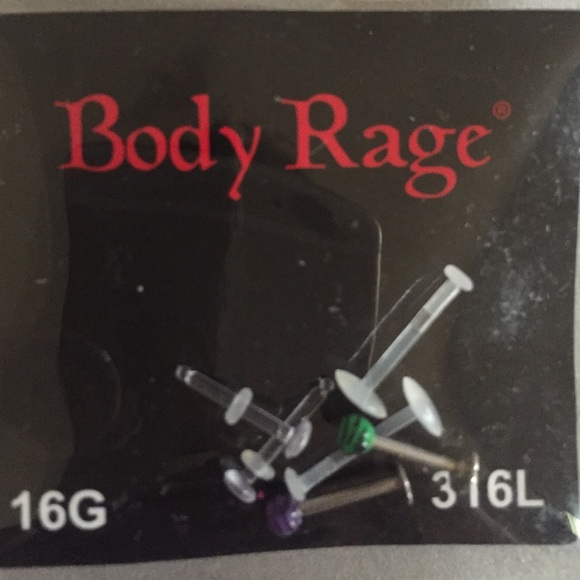 Body Rage Spencers Jewelry Labret Rings And Retainers