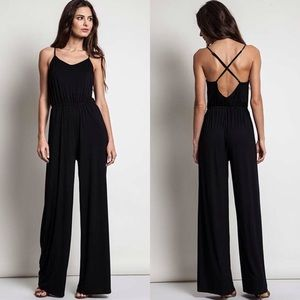 """Shadow"" Wide Leg Jumpsuit"